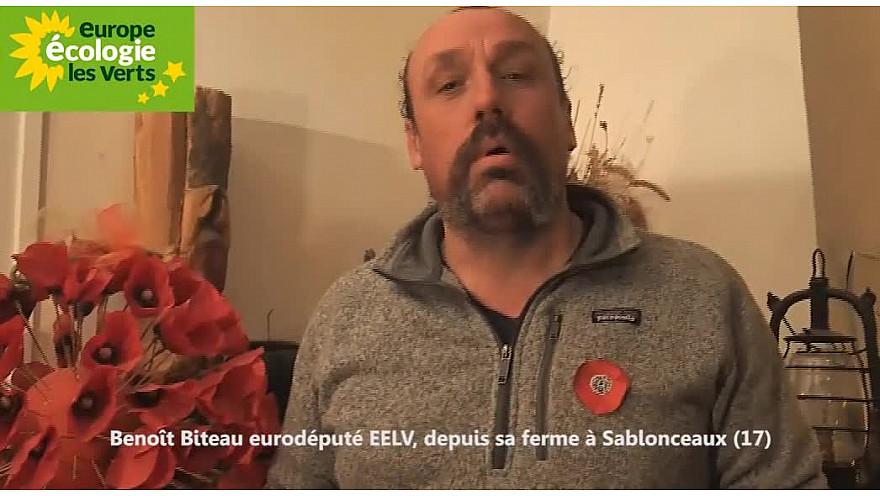Groupe local des estuaires 17 soutenu par Benoît Biteau eurodéputé, paysan @EELV @ElusEELVNvleAqu