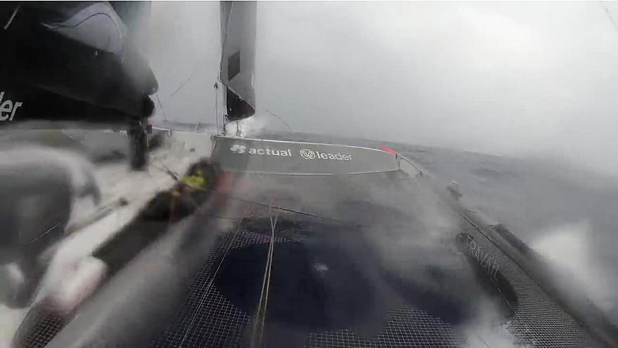 BREST ATLANTIQUES 2019 : images de bord de cette 13ème journée de course @Batlantiques @GitanaTeam @trimaranMACIF @Sodebo_Voile @TeamActualeader